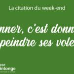 LA CITATION DU WEEK-END